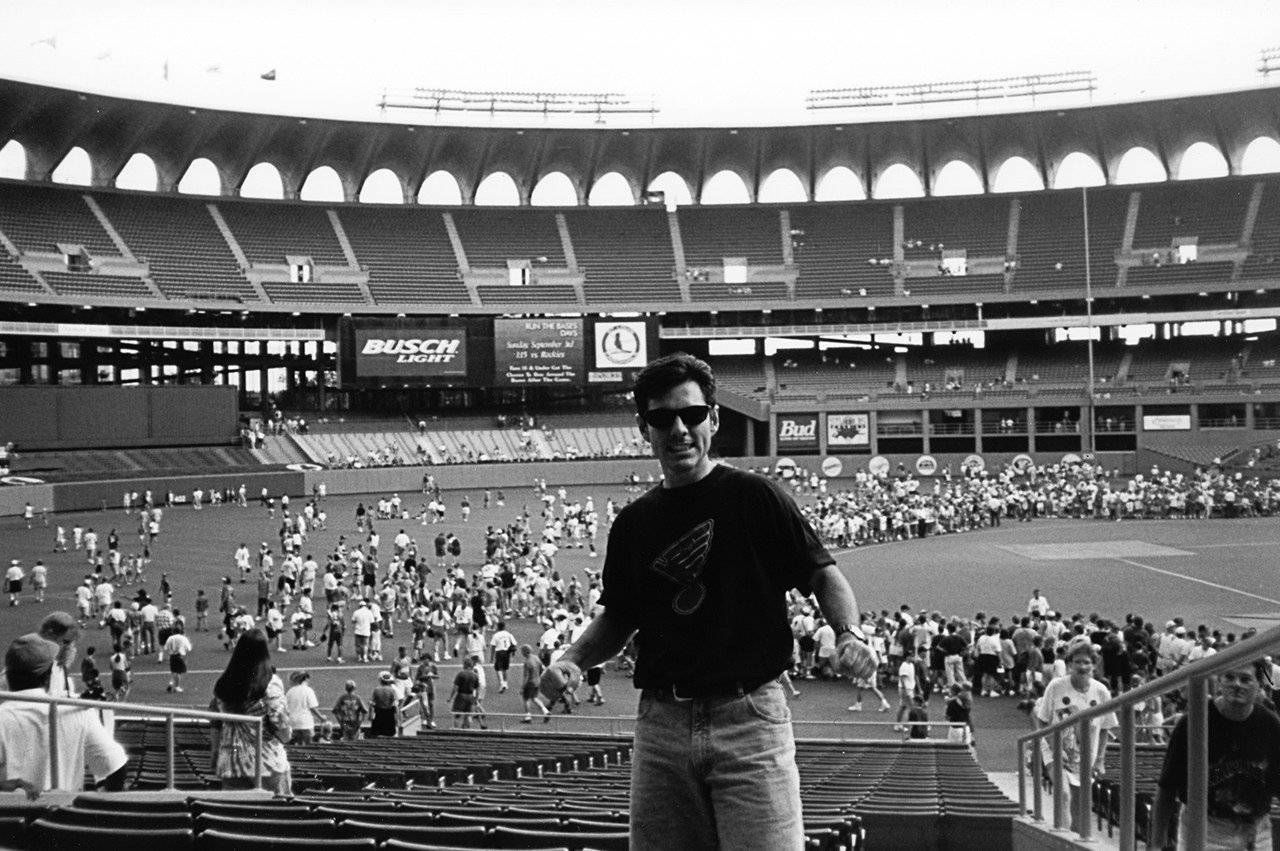 Beer Baseball Blog Busch Stadium 1995
