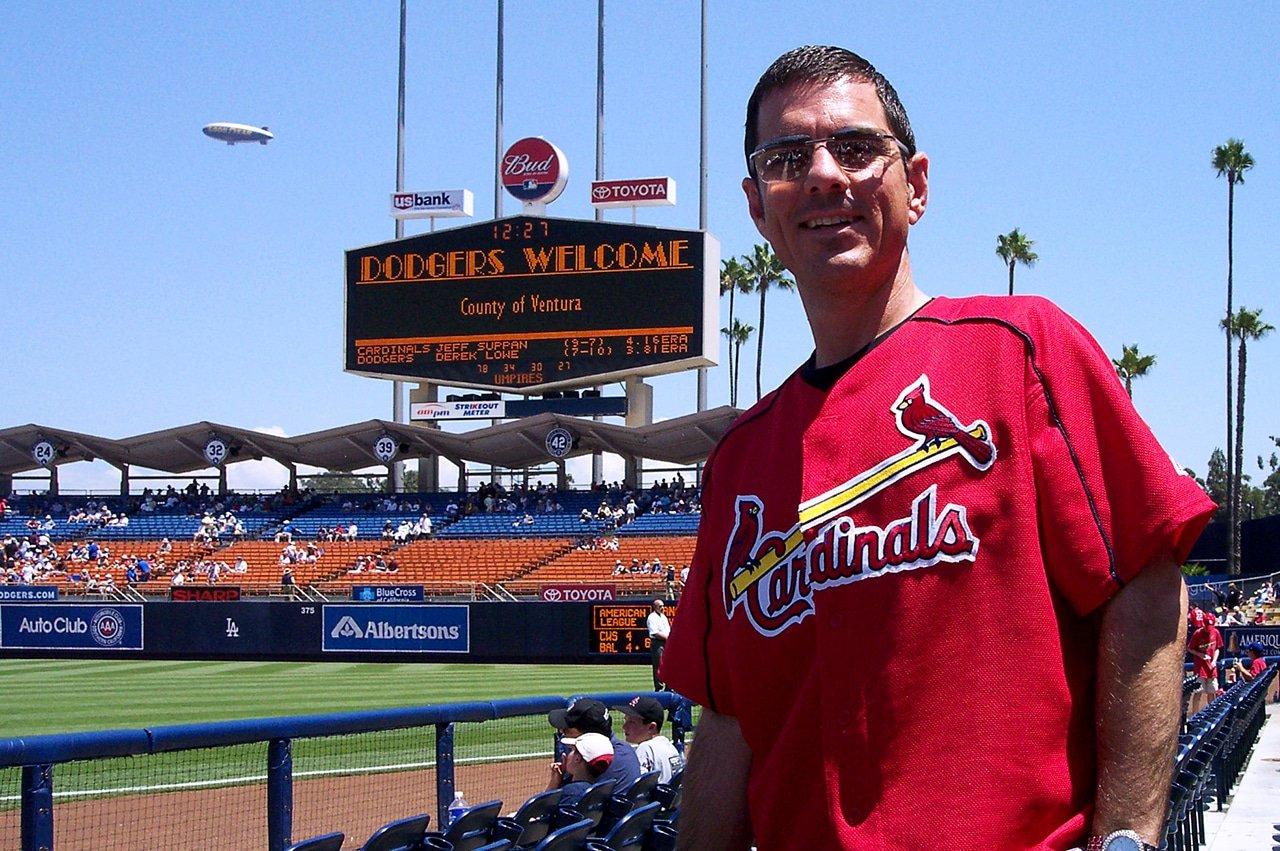 Beer Baseball Blog Dodger Stadium 2004