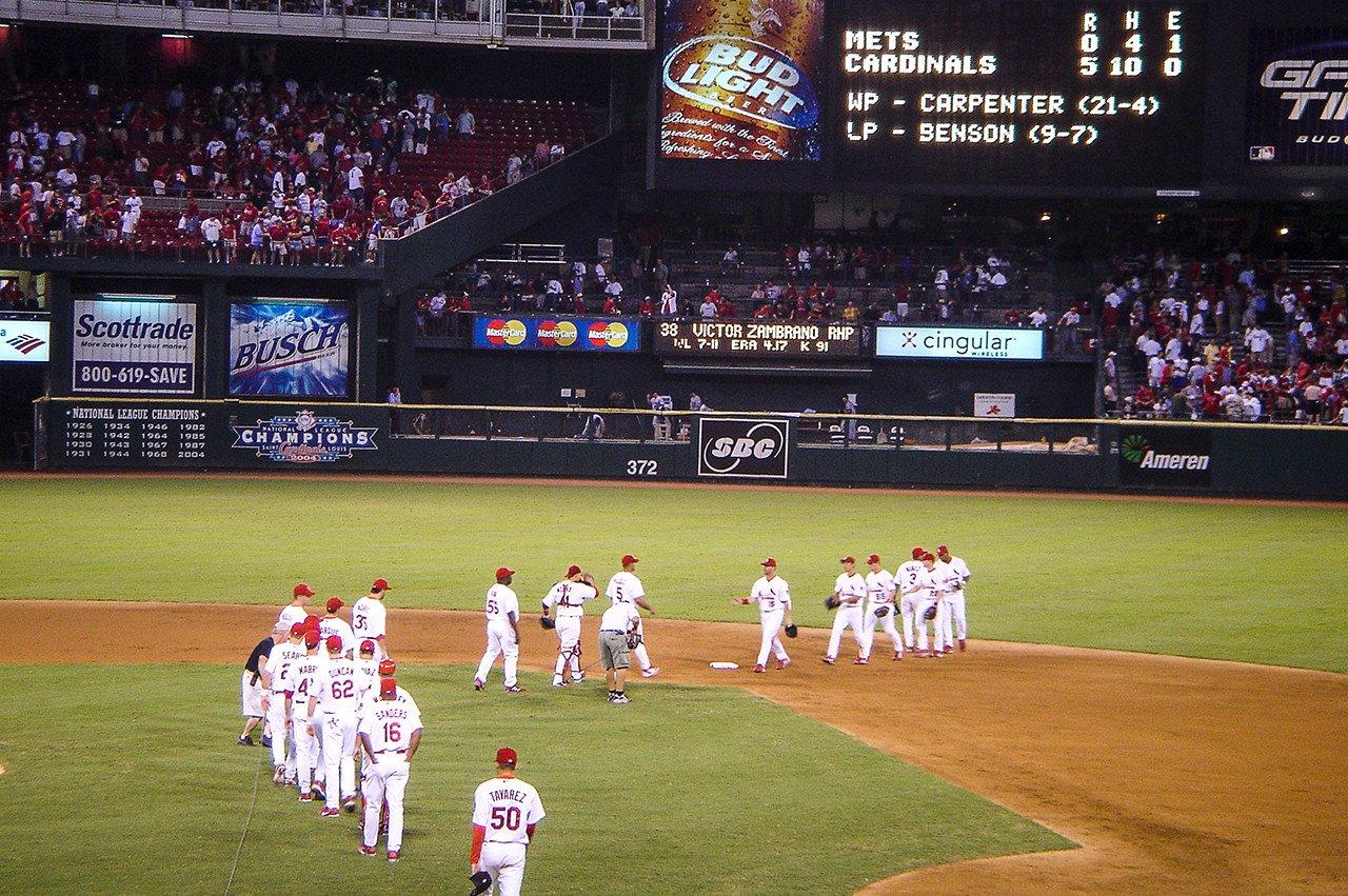 St. Louis Cardinals New York Mets Busch Stadium 2005