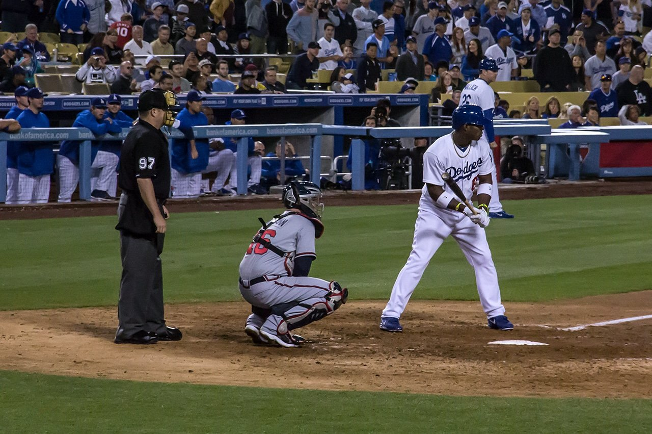 Yasiel Puig Grand Slam Dodger Stadium 2013