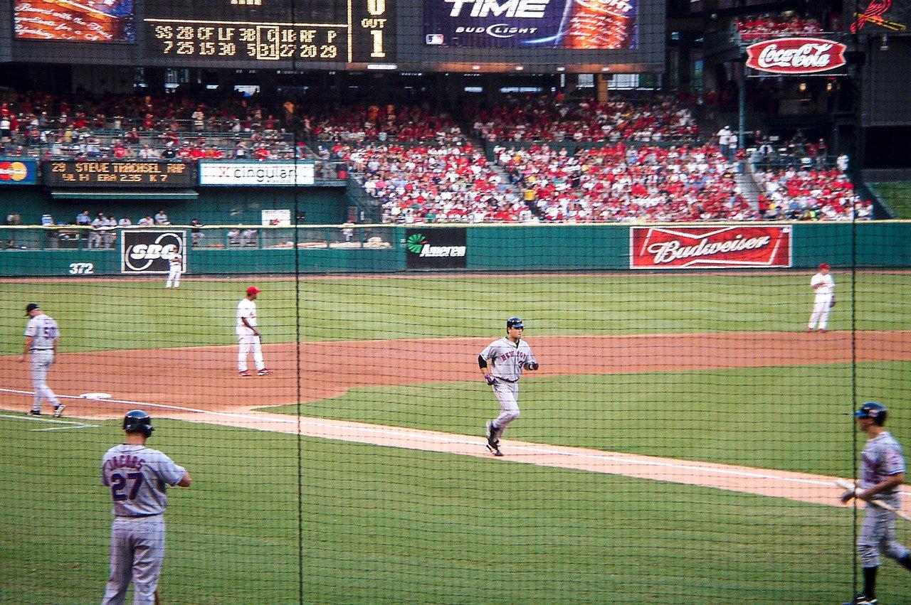 Mike Piazza Home Run Busch Stadium 2005