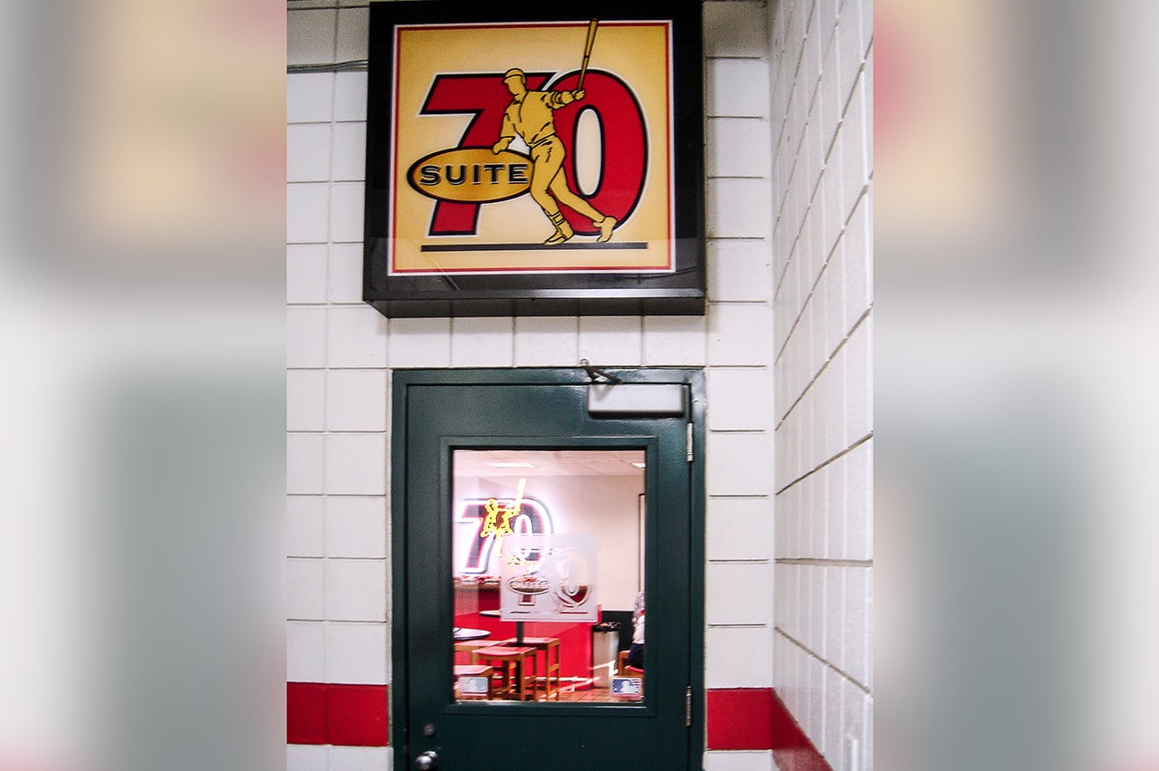 Suite 70 old Busch Stadium 2005