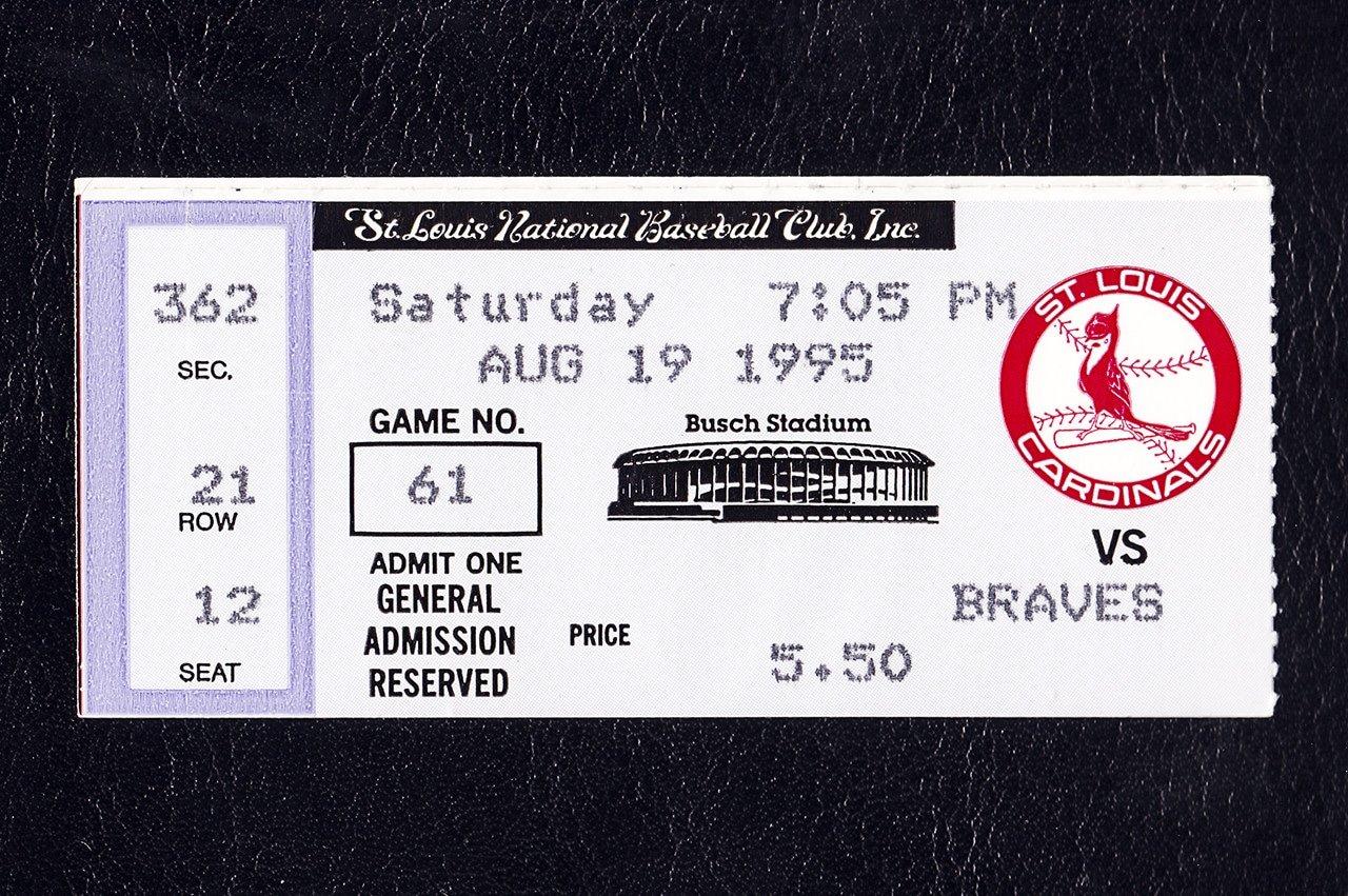 St. Louis Cardinals Atlanta Braves 1995