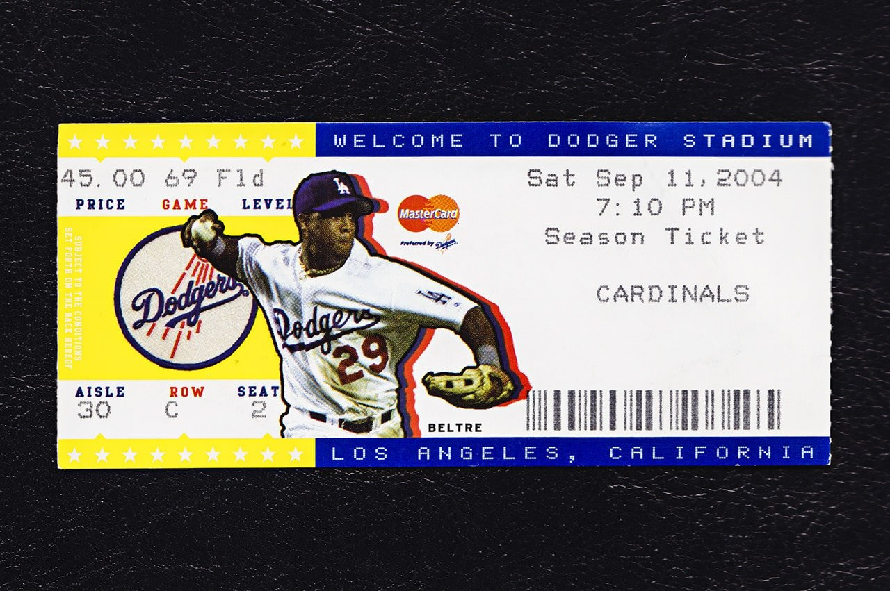 St. Louis Cardinals Los Angeles Dodgers September 11, 2004
