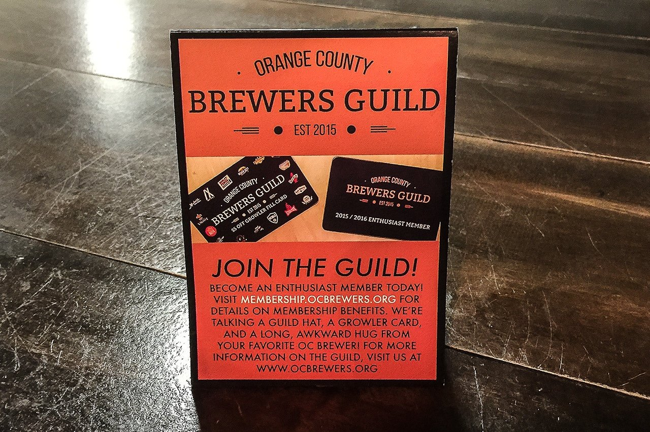 Join the Orange County Brewers Guild