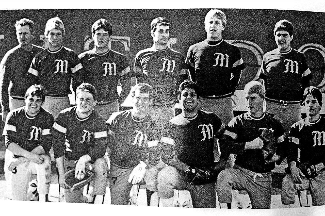 Shadow Mountain High School Matadors Varsity Baseball Team 1985