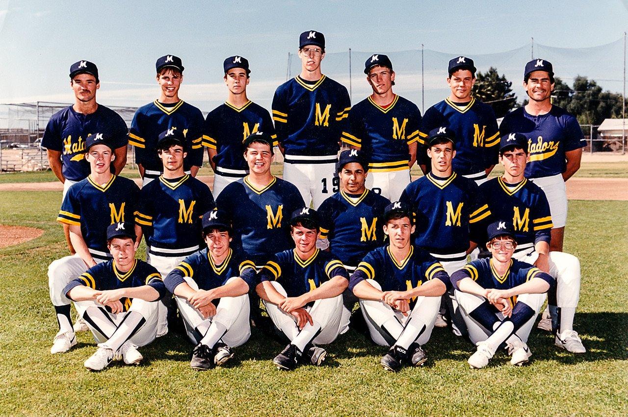 Shadow Mountain High School Matadors Junior Varsity Baseball Team 1987