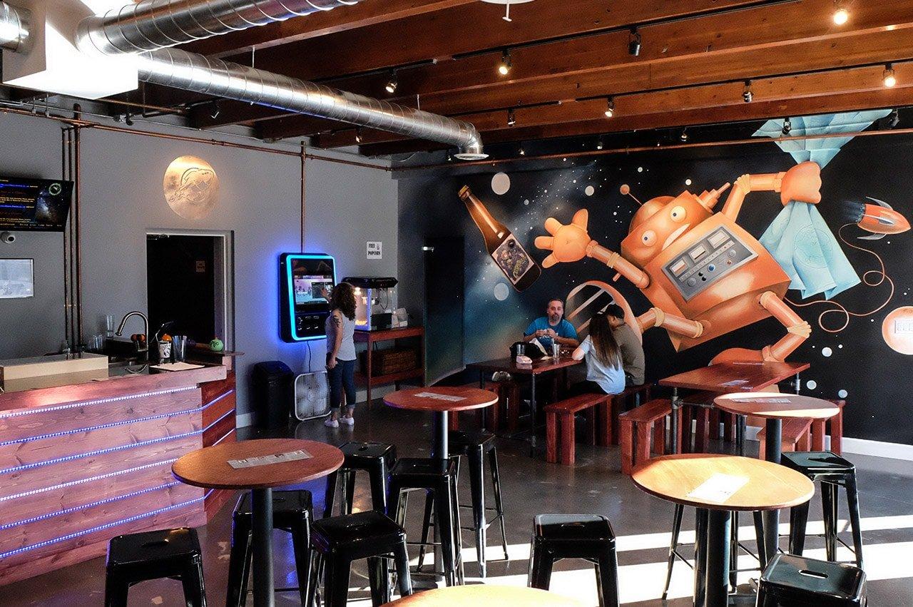 Cosmic Brewery Torrance California Beer Garden