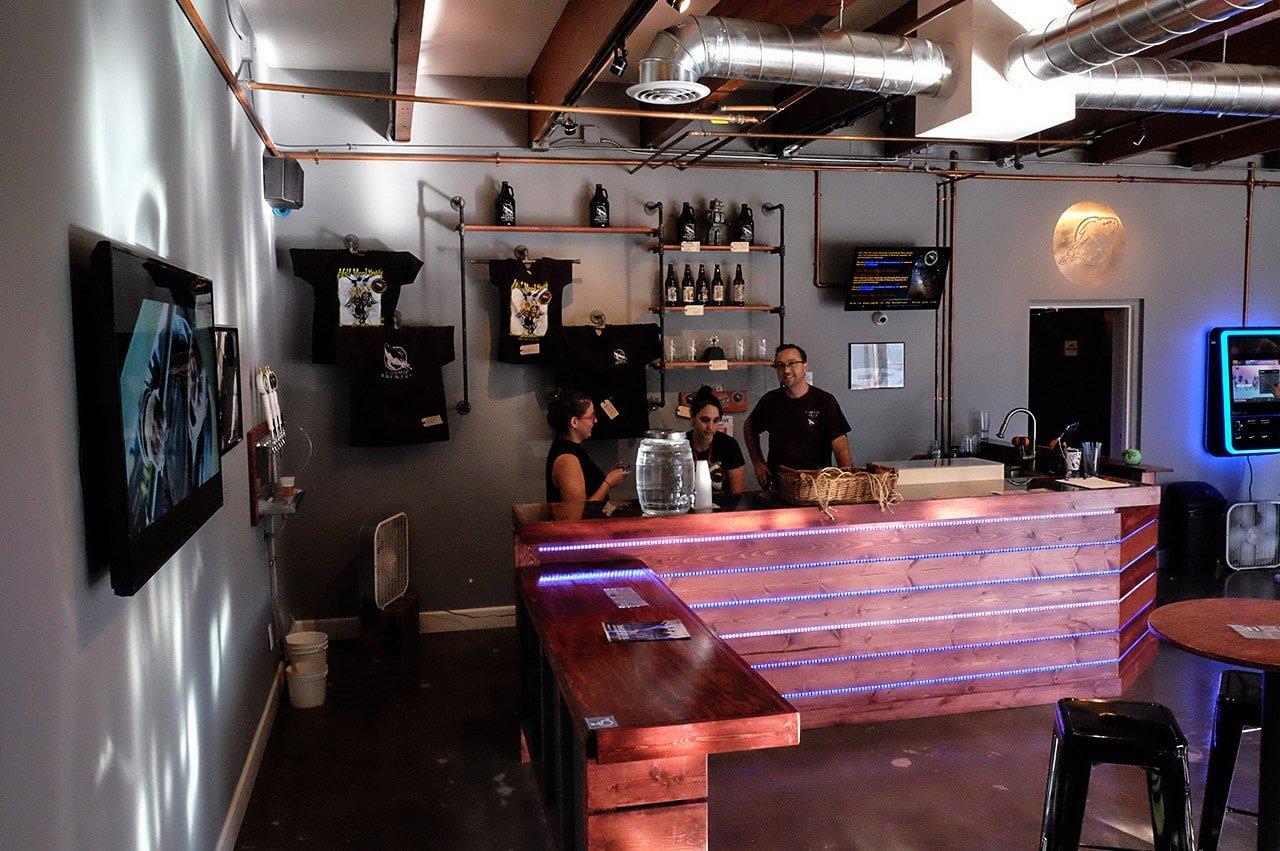 Cosmic Brewery Torrance California Tasting Room