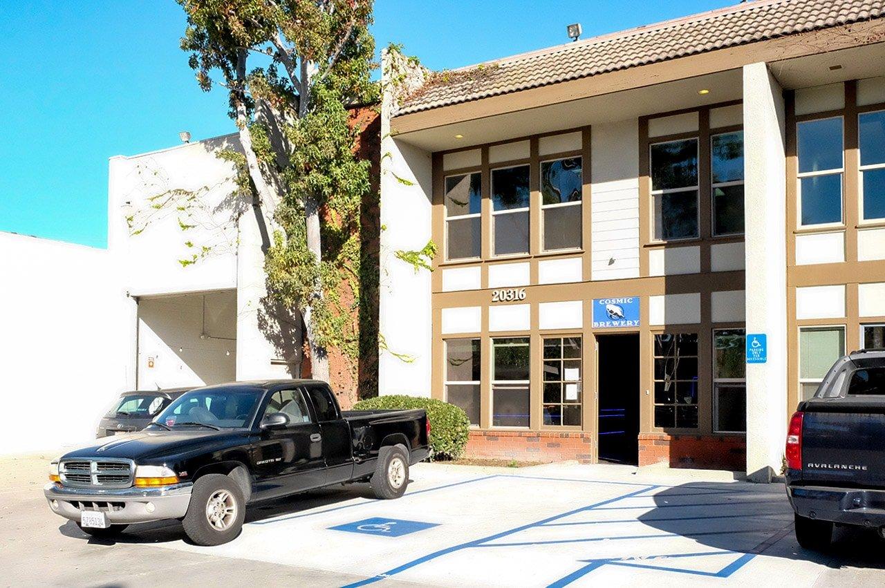 Cosmic Brewery Torrance California Entrance