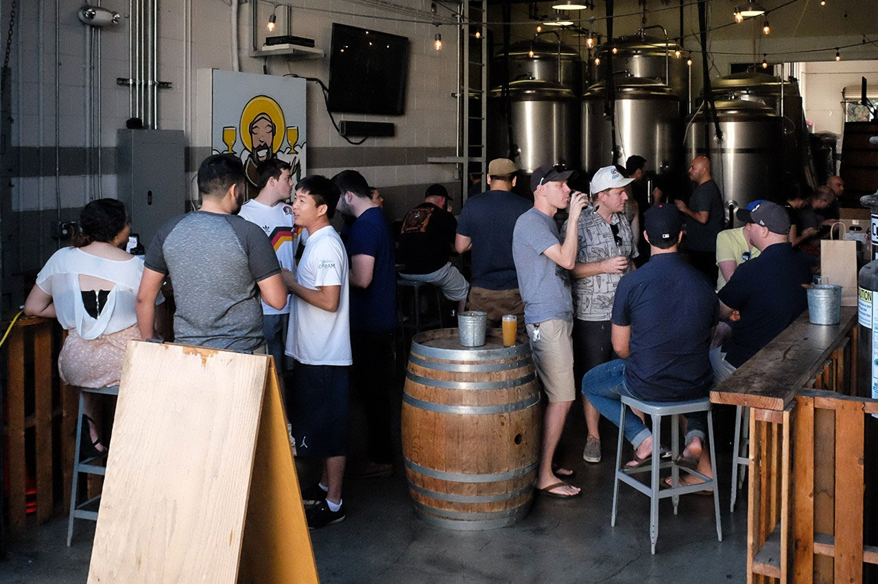 Monkish Brewing Company Torrance California Beer Tasting