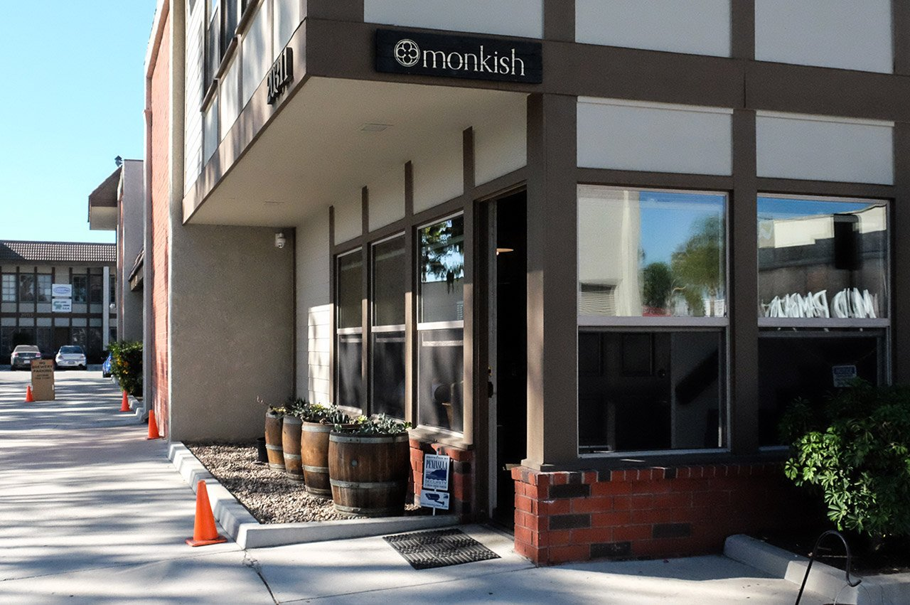 Monkish Brewing Company Torrance California Entrance