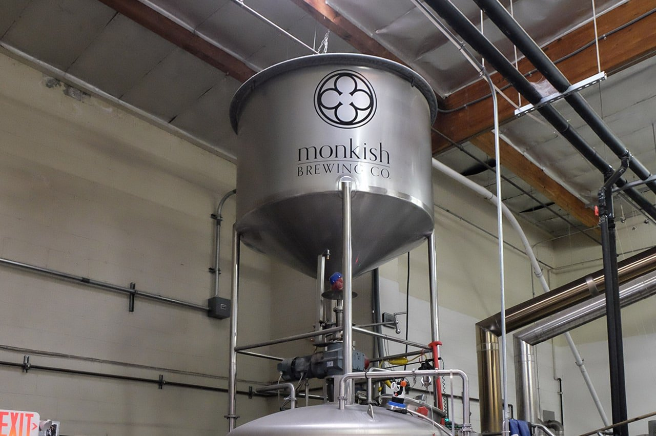 Monkish Brewing Company Torrance California Brewing Tank