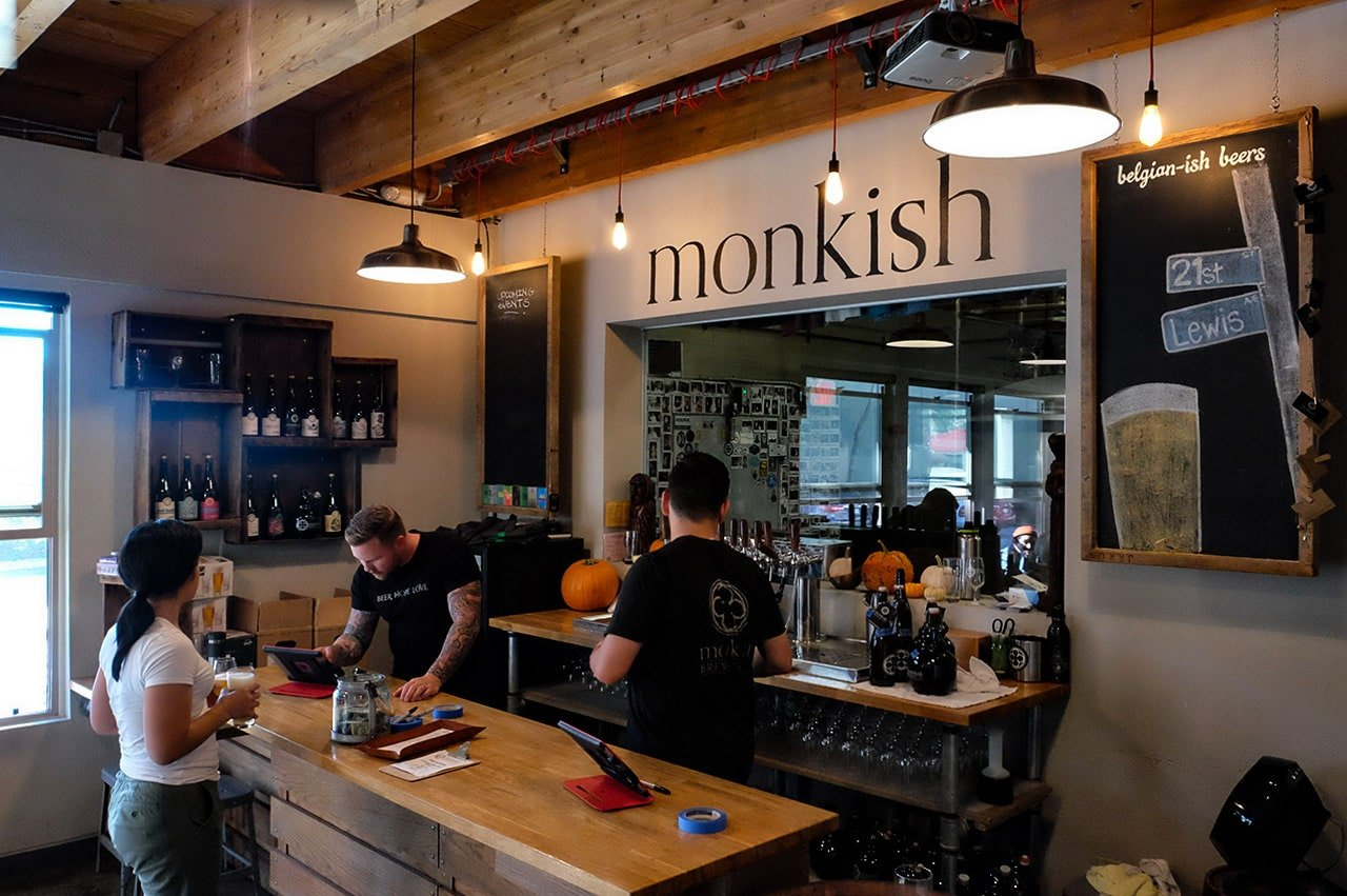 Monkish Brewing Company Torrance California Taproom