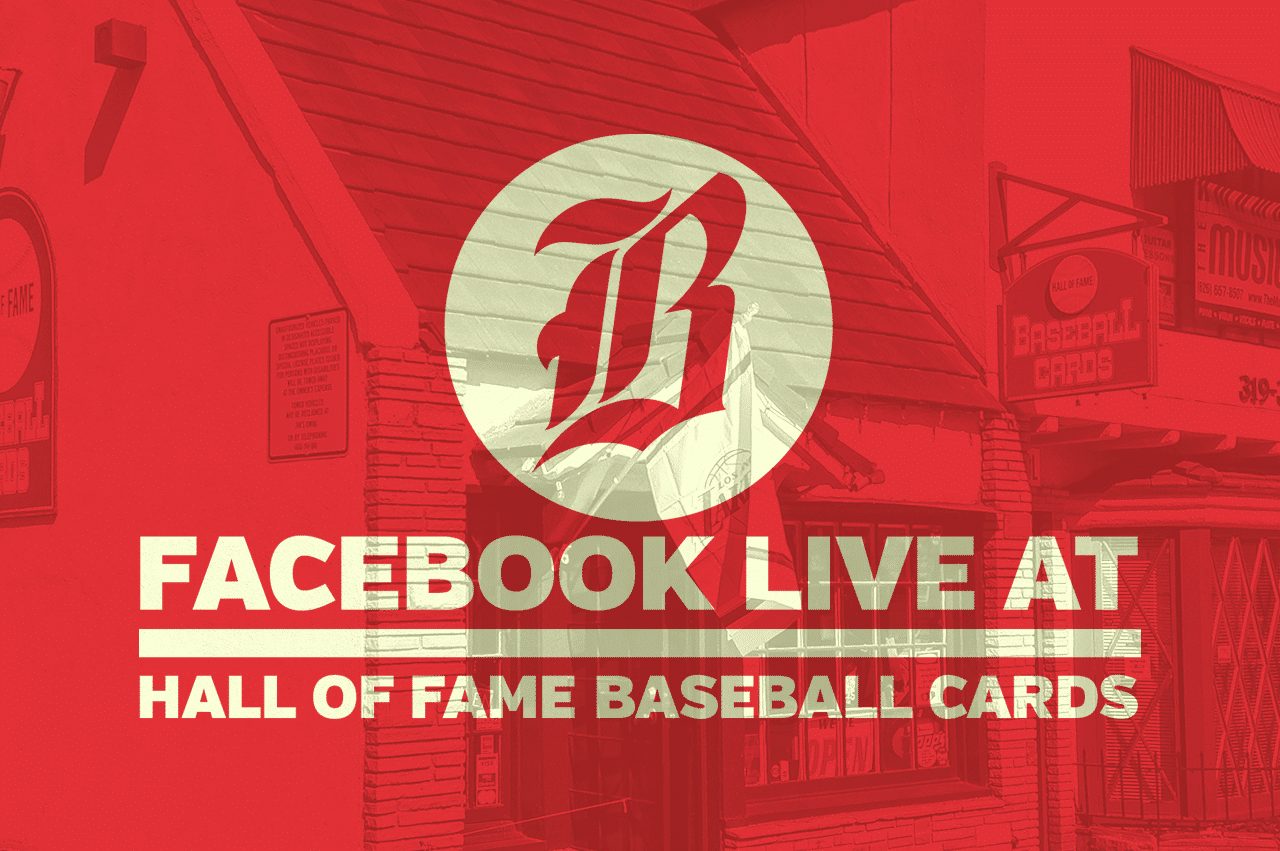 Facebook Live Hall Of Fame Baseball Cards