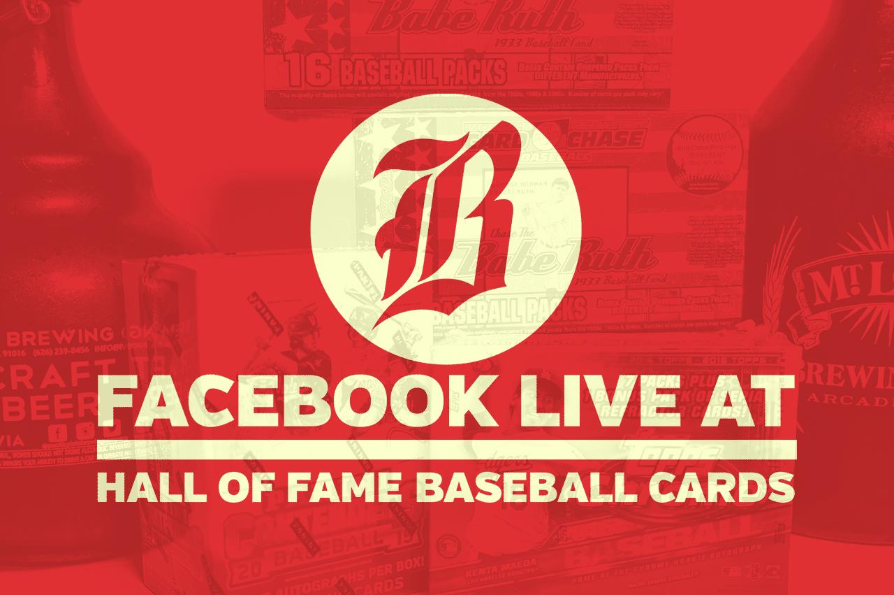 Beer Baseball Blog Live At Hall Of Fame Baseball Cards – December 2016