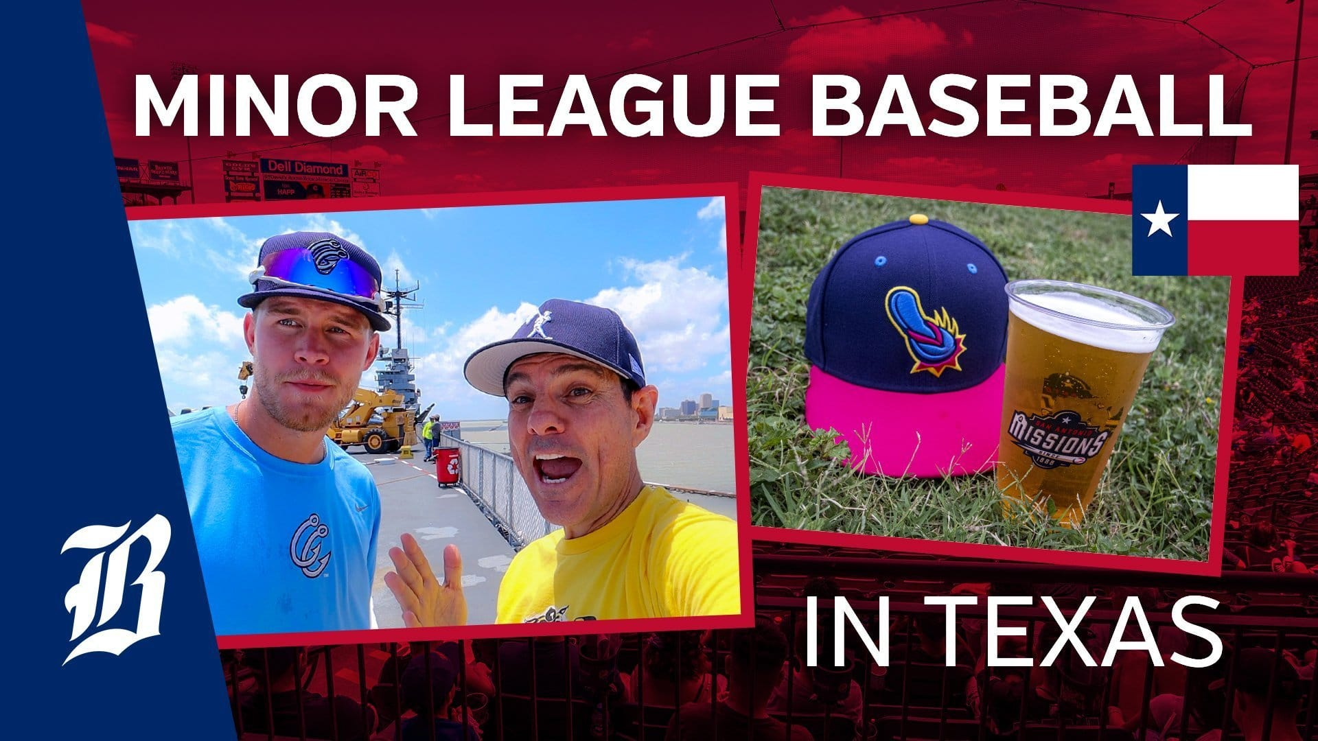 Minor League Baseball And Craft Beer In Texas