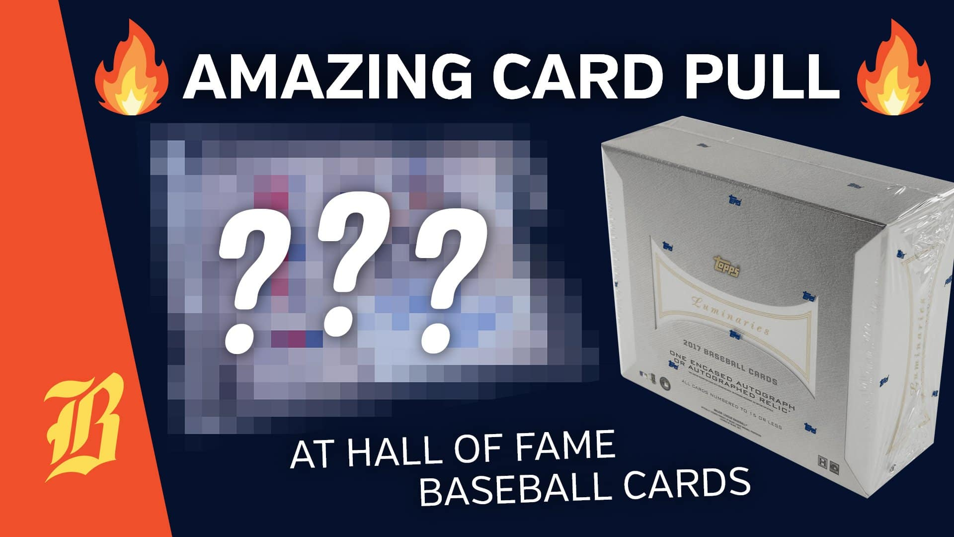 Amazing Card Pull At Hall Of Fame Baseball Cards